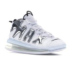 NIKE エアー アップテンポ AIR UPTEMPO WHITE MORE 720 METALLIC SILVER SILVERBLACK